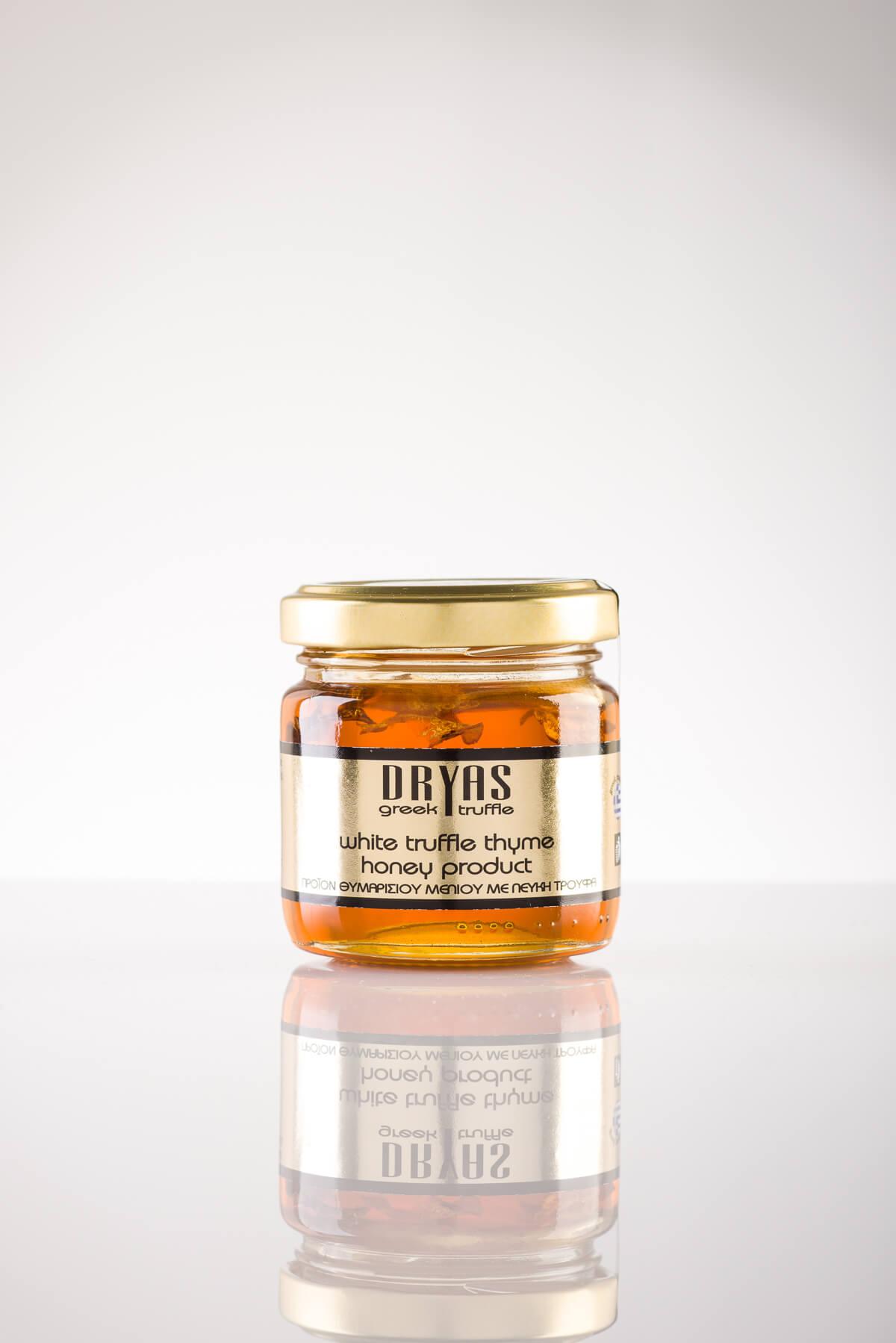 Θυμαρίσιο μέλι με λευκή τρούφα