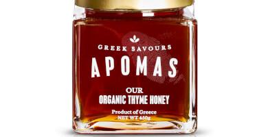 APOMAS βιολογικό θυμαρίσιο μέλι 450 gr