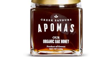 APOMAS βιολογικό μέλι βελανιδιάς 450 gr