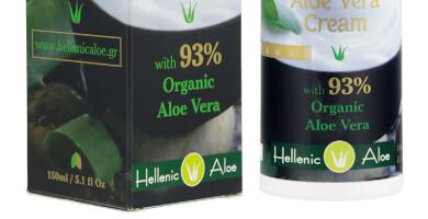 MULTI EFFECT ALOE VERA CREAM με 93% Κρητική αλόη & βιταμίνη E