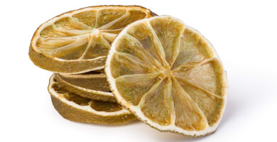 Ελληνικό αποξηραμένο λεμόνι χωρίς ζάχαρη