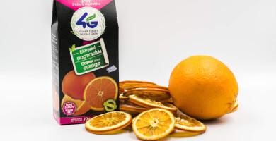Ελληνικό αποξηραμένο πορτοκάλι χωρίς ζάχαρη