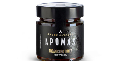 APOMAS βιολογικό μέλι βελανιδιάς 300 gr