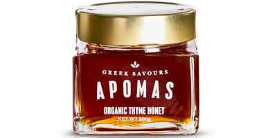 APOMAS βιολογικό θυμαρίσιο μέλι 300 gr