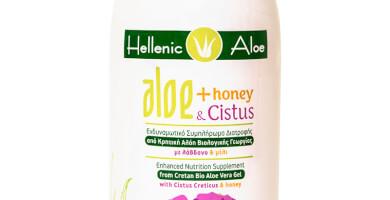 ΣΥΜΠΛΗΡΩΜΑ ΔΙΑΤΡΟΦΗΣ ALOE με λάβδανο & βιολογικό μέλι