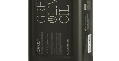 KOPOS EXTRA VIRGIN OLIVE OIL TIN CAN 5 Litr