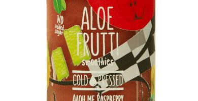 Aloe Frutti Smoothies  Rasberry + Alloe