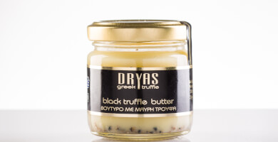 Butter with black truffle