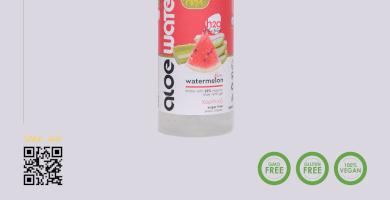 Νερό με αλόη   Γεύση καρπούζι