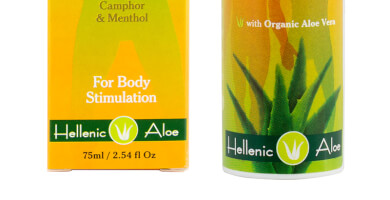ALOE VERA COMFORT CREAM for body stimulation